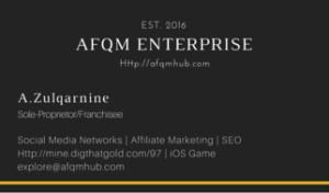 AFQM BIZ CARD