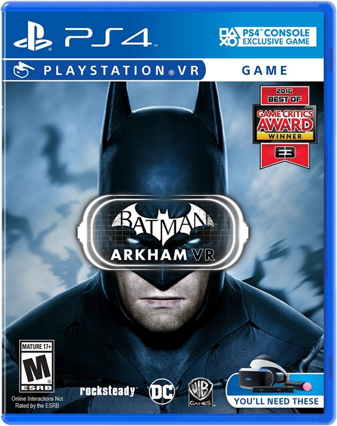 Batman: Arkham VR – PlayStation 4