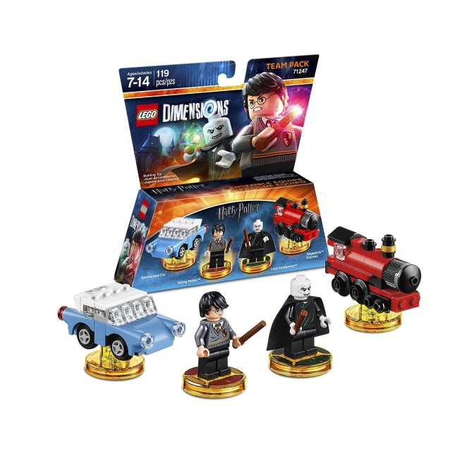 Games LEGO Dimensions, Harry Potter Team Pack